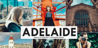 Free Adelaide Lightroom Preset