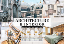 Free Architecture & Interior Lightroom Preset
