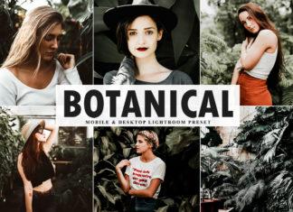 Free Botanical Mobile & Desktop Lightroom Preset