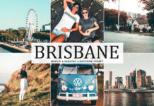 Free Brisbane Lightroom Preset