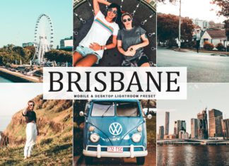 Free Brisbane Lightroom Preset