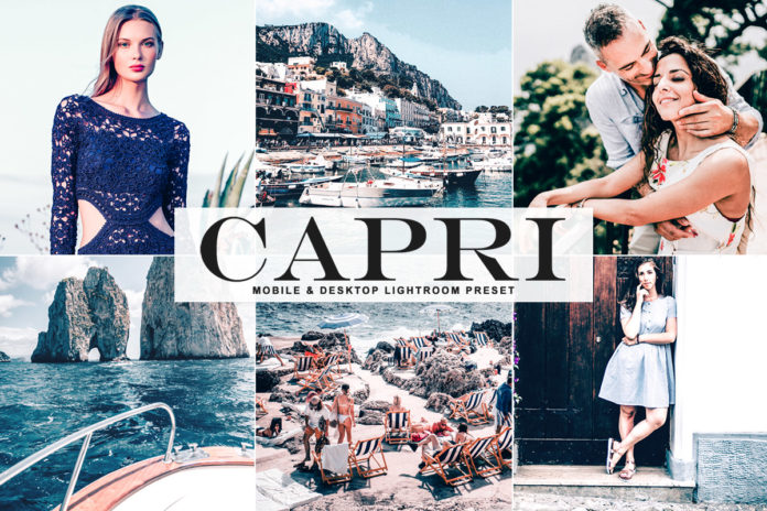 Free Capri Lightroom Preset