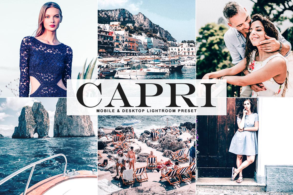 Free Capri Lightroom Preset
