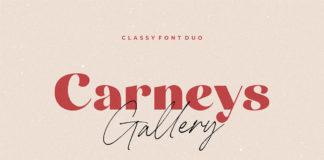 Free Carneys Gallery Sans Serif Font