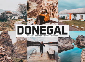 Free Donegal Lightroom Preset