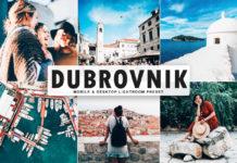 Free Dubrovnik Lightroom Preset