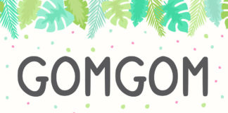 Free Gomgom Display Font