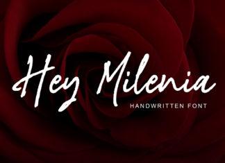 Free Hey Milenia Handwritten Font