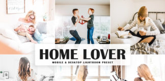 Free Home Lover Lightroom Preset