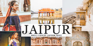 Free Jaipur Lightroom Preset