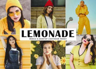 Free Lemonade Lightroom Preset