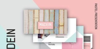 Free Madein Presentation Template