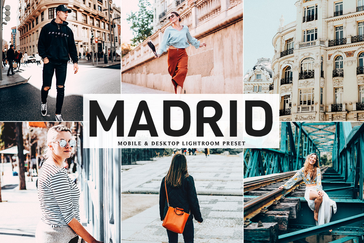 Free Madrid Lightroom Preset