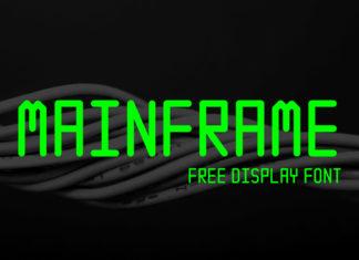 Free Mainframe Display Font