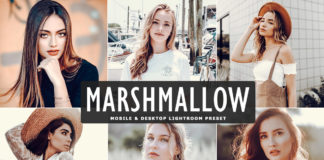 Free Marshmallow Lightroom Preset