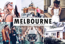 Free Melbourne Lightroom Preset