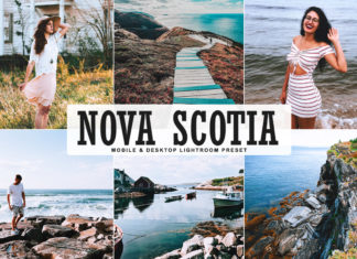 Free Nova Scotia Lightroom Preset