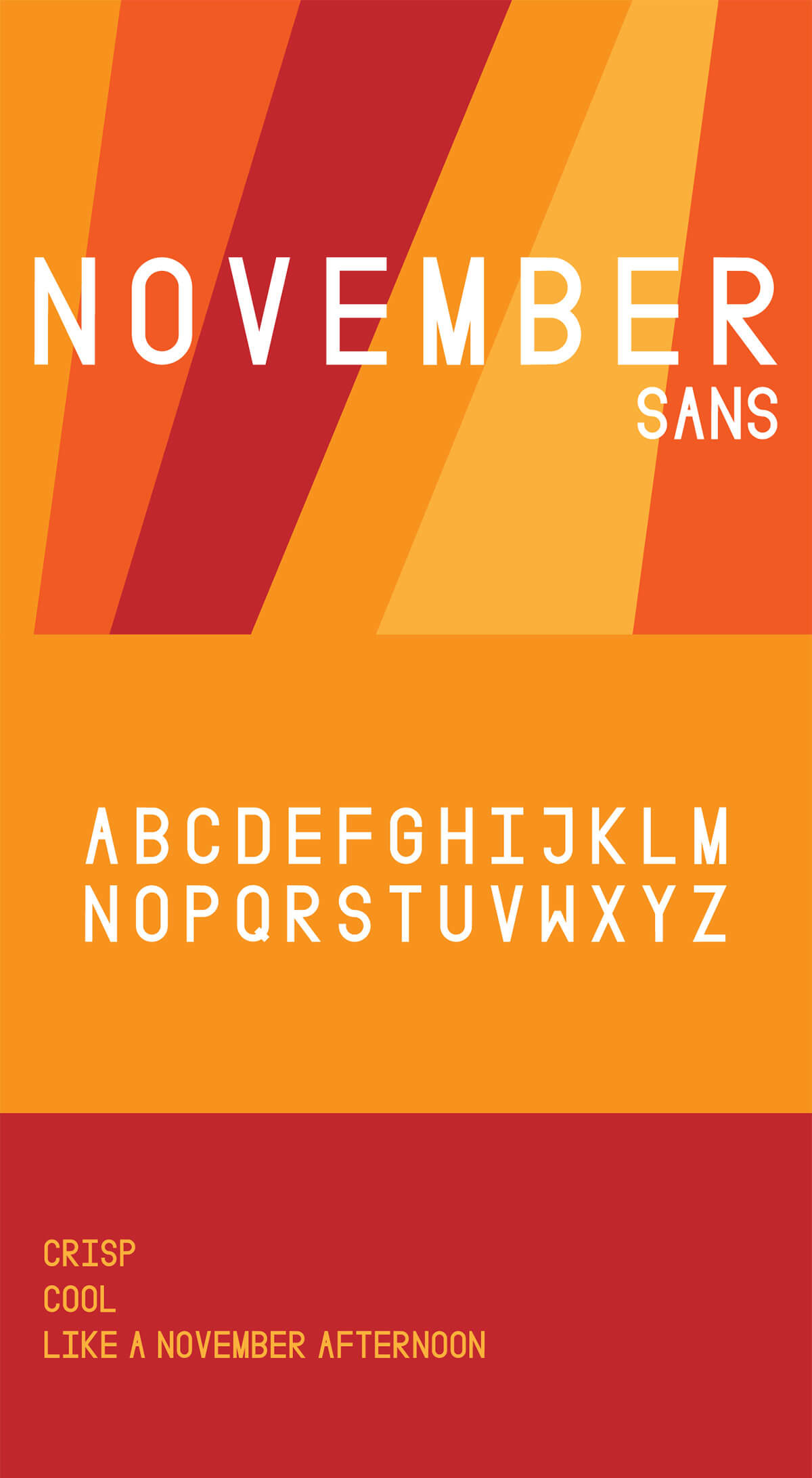 Free November Sans Display Font