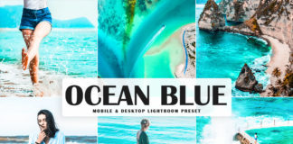 Free Ocean Blue Lightroom Preset