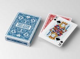 Free Poker Playing Cards Mockup
