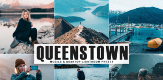 Free Queenstown Lightroom Preset
