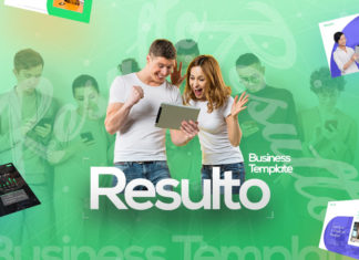 Free Resulto Business Presentation Template