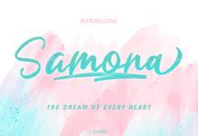 Free Samona Script Font