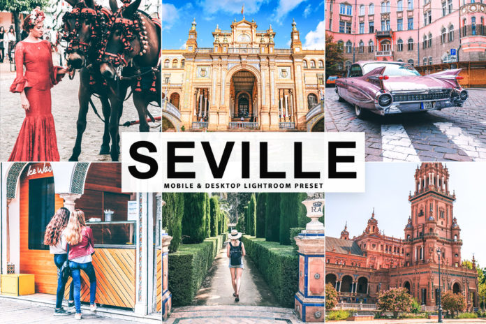 Free Seville Lightroom Preset