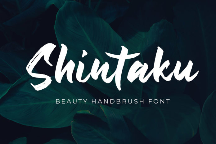 Free Shintaku Handbrush Font