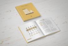 Free Square Book Mockup