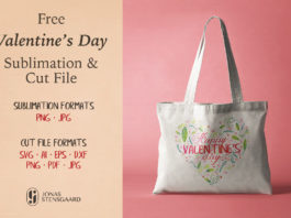 Free Valentines Day Sublimation Clipart