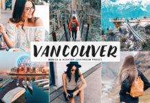 Free Vancouver Lightroom Preset