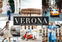 Free Verona Lightroom Preset