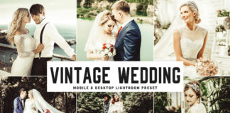 Free Vintage Wedding Lightroom Preset