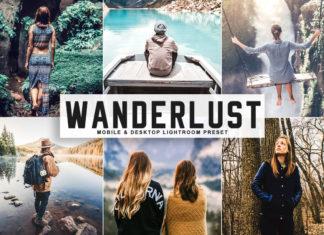 Free Wanderlust Lightroom Preset