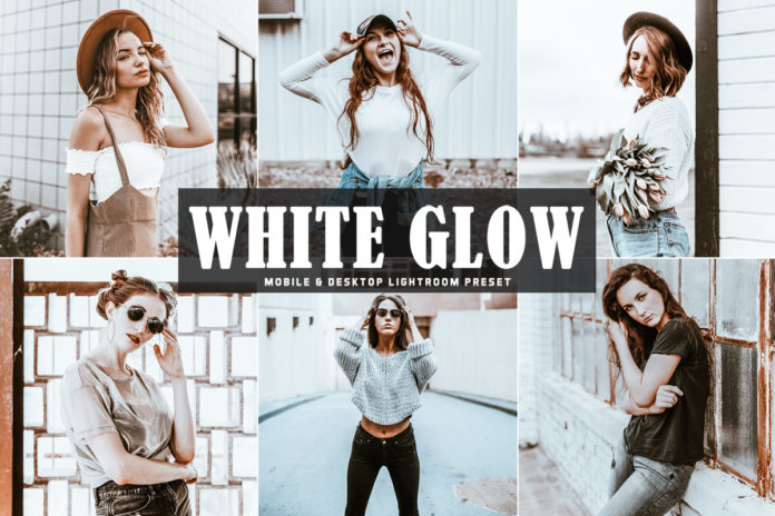 Free White Glow Lightroom Preset