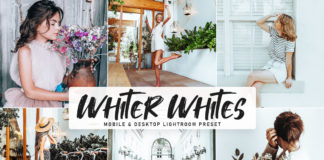 Free Whiter Whites Lightroom Preset