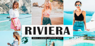 Free Riviera Lightroom Preset