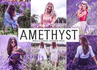 Free Amethyst Lightroom Preset