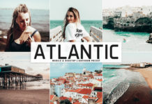 Free Atlantic Lightroom Preset