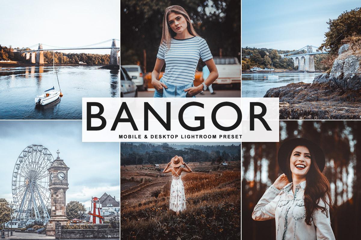 Free Bangor Lightroom Preset