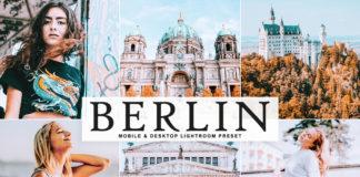 Free Berlin Lightroom Preset