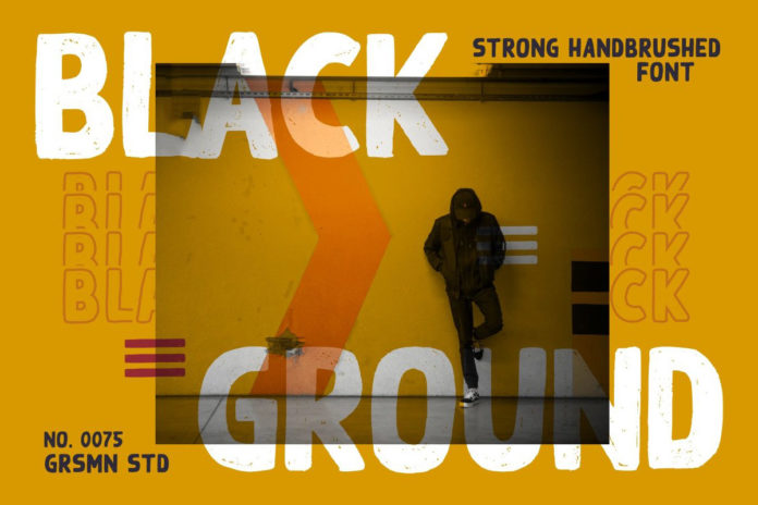 Free Black Ground Display Font