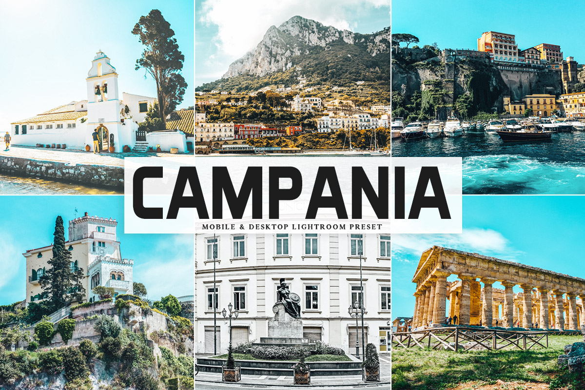 Free Campania Lightroom Preset