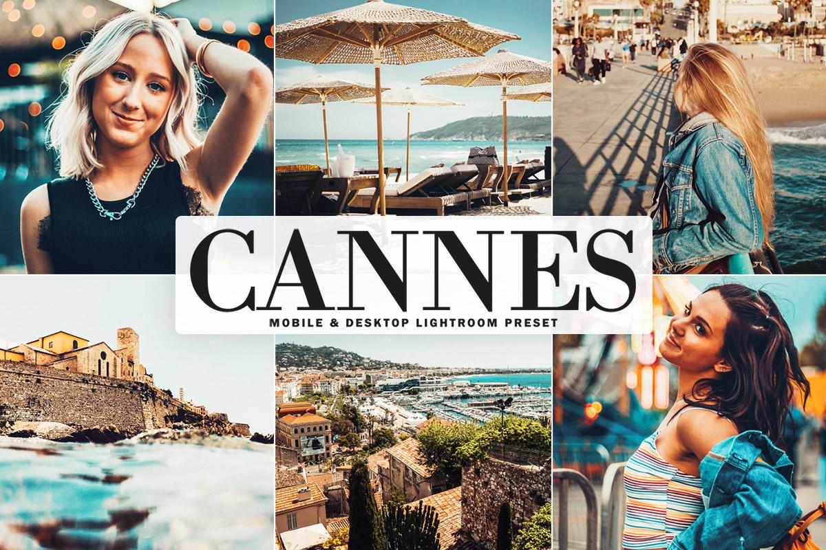Free Cannes Lightroom Preset
