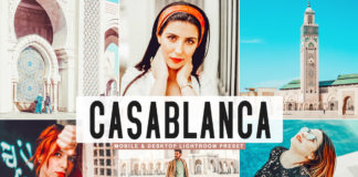Free Casablanca Lightroom Preset