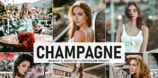 Free Champagne Lightroom Preset
