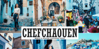 Free Chefchaouen Lightroom Preset