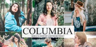 Free Columbia Lightroom Preset