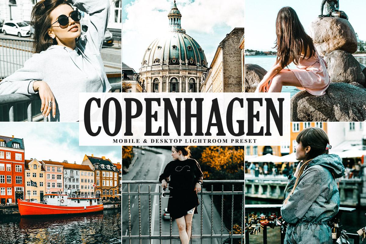 Free Copenhagen Lightroom Preset